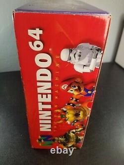 Console Nintendo 64 Complète En Box Cib Bon État Avec Manuels N64 Testés