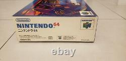 Console Nintendo 64 En Boîte Avec Japonais Manuel. C'est Bon État! Vendeur Aux États-unis