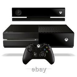 Console Noire Microsoft Xbox One 500 Go Avec Kinect En Très Bon État