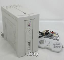 Console Pc-fx Système Bon État Nec Ref 4y18459ya Testée Japon Jeu