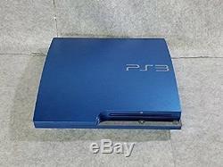 Console Playstation 3 Splash Bleue 320 Go Japon Ps3 Bon État Complet