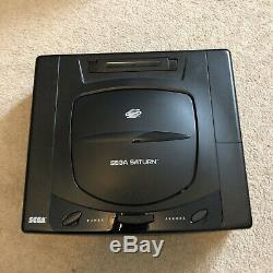 Console Sega Saturn Mk1 Dans Boîte D'origine Avec Manuel Bon État Retro