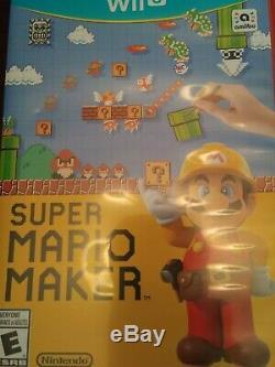 Console Wii U Bundle 32go Noir Avec 9 Jeux Utilisés En Très Bon État