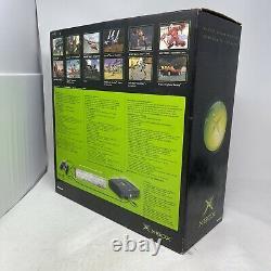 Console Xbox Originale En Boîte Avec Duke Controller Livraison Gratuite Bonne Forme