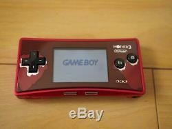 Corps Game Boy Micro Mère 3 Nintendo Seulement Très Bon État Japon Authentique