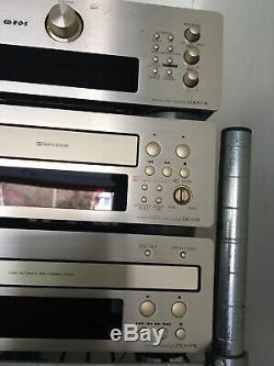 Denon Udra-f10 Système Stéréo Avec Télécommande, Bon Et État De Fonctionnement