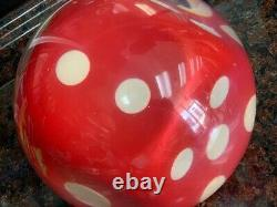 Dice Bowling Ball 15lbs Très Bon État, Bas Jeux, Très Rare, Système It