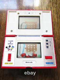 Donald & Mickey (dm-53) Nintendo Jeu Et Montre En Bon État