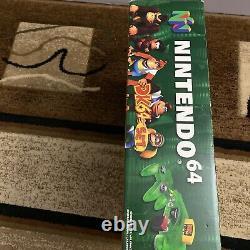 Donkey Kong 64 Console Box Seulement Bon État! N64 Livré Avec Boîte Protecter