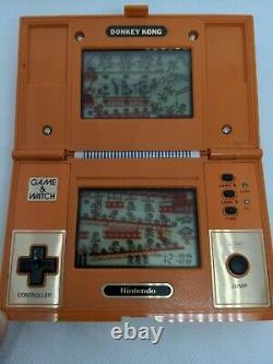 Donkey Kong (dk-52) Multi Screen Nintendo Game & Watch En Bon État De Fonctionnement