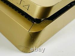 Edition Limitée Or! Sony Playstation 4 Slim 500 Go Console Bon État