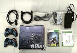Édition Xbox 360 Limitée Halo 4 Bundle 320gb Cib Très Bon État