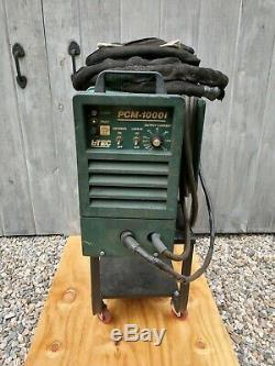 Esab L-tec Pcm-1000i Plasma Cutter Coupe Torch Système Bon État Et Panier