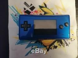 Gameboy Micro Bleu Très Bon État