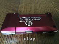 Gameboy Micro Famicom Console Édition Nintendo Japon Très Bon État Gbm-04