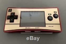 Gameboy Micro Famicom Game Boy Japan Bon État + Box + 1 Jeu Inclus