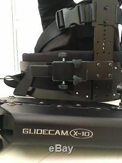 Glidecam X-10 Double Bras De Support Stabilisateur Gilet Système (en Très Bon État)