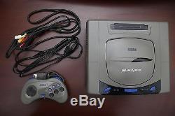 Gris Console Sega Saturn Très Bon État Japon Système Ss Vendeur Us