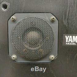 Haut-parleur Yamaha Ns-10m Système De Travail Bon État Japonais Vintage Set Paire
