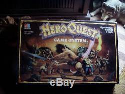 Heroquest Game System / 100% Complet! /très Bonne Condition