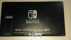 Interrupteur Nintendo Batterie Étendue V2 Console Comprimée Seulement Bon État 5/10
