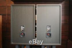 Jbl 4312xp Speaker System Black Bonne Paire Condition Livraison Gratuite D683
