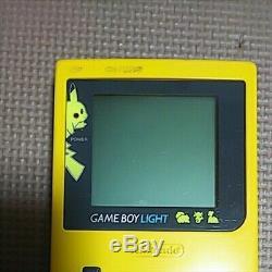 Jeu Utilisé Boy Lumière Pikachu Ver. Pokemon Center Limitée Bonne Condition F / S Japon