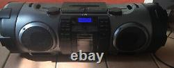 Jvc Powered Woofer CD Ipod Boombox Système En Bon État, N ° De Modèle Rv-nb70b