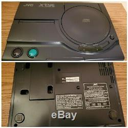 Jvc X'eye Tout En Un Sega Genesis + Sega CD Console (bon État, Works)
