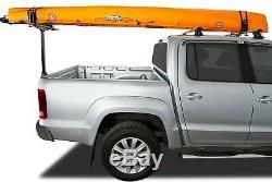 Kayak T-loader Par Rhino Utilisé Systems Bon État Avec Un Peu De Rouille Et Kayak Voiture