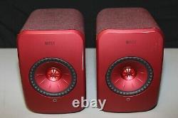 Kef Lsx Wireless Active Music System Red Bon État