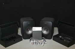 Kef Lsx Wireless Music System Noir Bon État