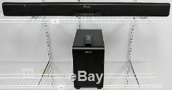 Klipsch Référence Système De Barres De Son 2.1 Canaux Rsb-11 Avec Subwoofer Bonne Forme