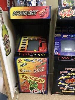 Konami 12 Dans 1 Arcade Système Bon État! Fonctionne Très Bien! Classic Series 1