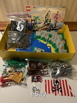 Lego System 6281 Pirates Perilous Pitfall Complet Bon État Lire