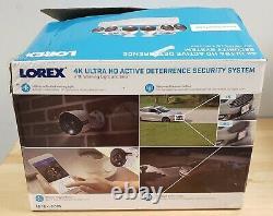 Lorex 4k 6 Caméra 8 Canaux Système Active Dissuasion Sécurité 2tb Dvr Bonne Forme