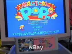 Magique Pop'n Snes Nintendo Super Famicom Sfc Bon État Jeu Vidéo Rare