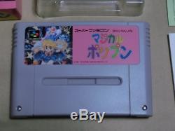Magique Pop'n Snes Nintendo Super Famicom Sfc Bonne Condition Jeu Vidéo Utilisé