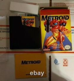 Metroid Cib Complet Bon État (nintendo Entertainment System, 1988)