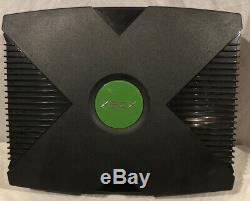 Microsoft Xbox D'origine Cib Inclut Des Jeux Annoncés Sur Box Très Bon État