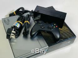 Microsoft Xbox One 1tb Limited Edition Halo 5 Console Gardiens Bon Etat
