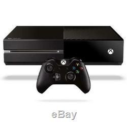 Microsoft Xbox One Console Noire Bon État, Garantie De 12 Mois