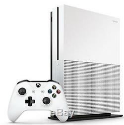 Microsoft Xbox One S 1 To Console Blanc Très Bon État