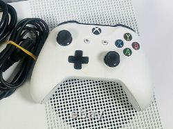 Microsoft Xbox One S 1tb Console Blanche Bon Etat