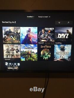 Microsoft Xbox One S 500go Console Blanche Bonne Condition