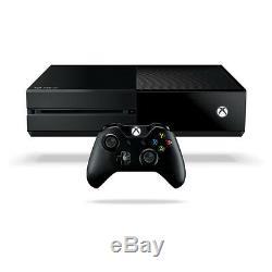 Microsoft Xbox One Sans Kinect 500 Go Noir Console Très Bon État