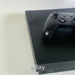 Microsoft Xbox One X 1tb Noir Console Bon Etat Grade B