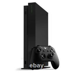Microsoft Xbox One X 1tb Projet Scorpion Black Console Très Bon État