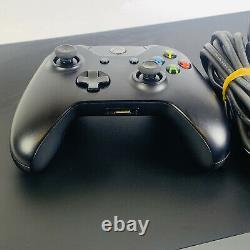 Microsoft Xbox One X 1to Console Noire Bonne Condition Grade B