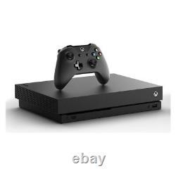 Microsoft Xbox One X 1to Console Noire Très Bon État
